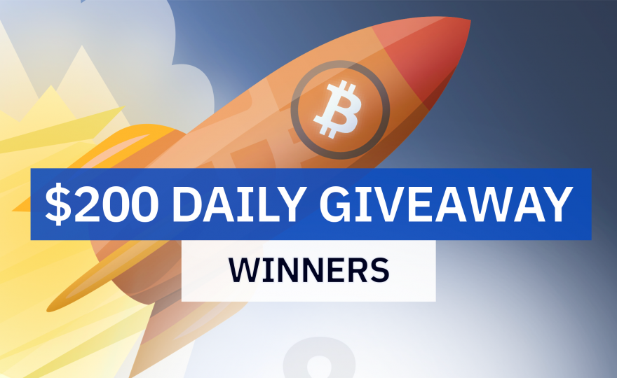 $200 Daily Giveaway Winners!