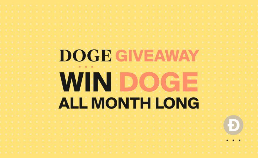 DOGE Giveaway Winners!